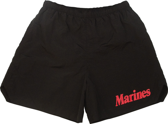 Black Marine PT Shorts