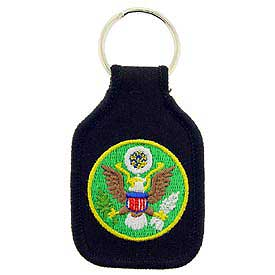 Army Logo Key Chain