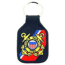 USCG Logo Key Chain