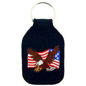 USA/EAGLE Key Chain