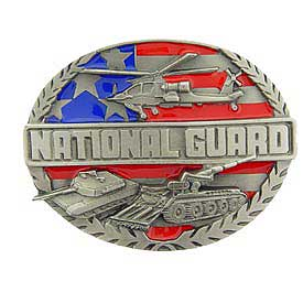 Army National Guard Buckle