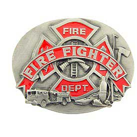 Fire Fighter Buckle