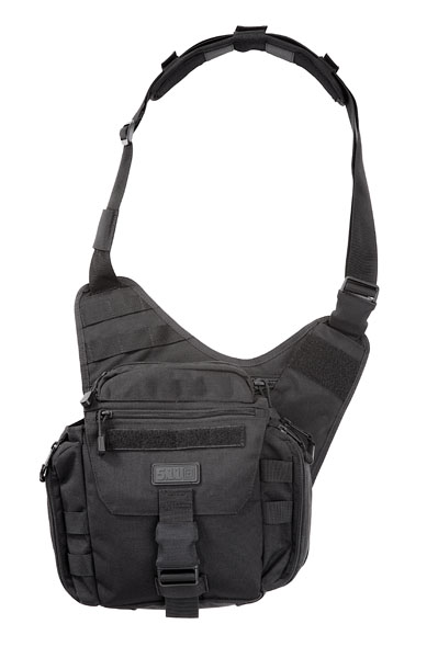 Black 5.11 PUSH Pack (Practical Utility Shoulder Hold-All)