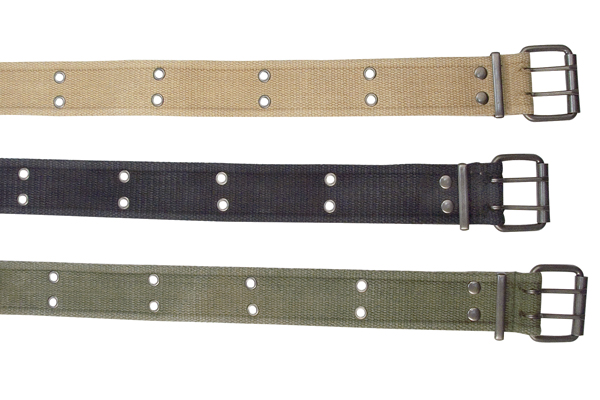 UF Vintage Cloth Belt w/2 Prong Buckle