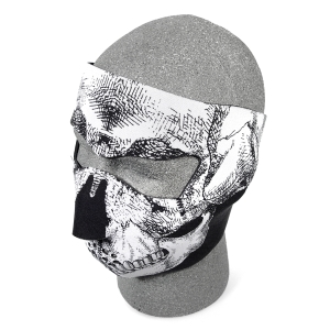 Neoprene Face Mask w/ Skulls