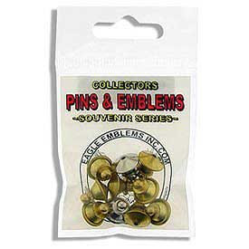 Brass Jewelry Pin Backs 10 pack