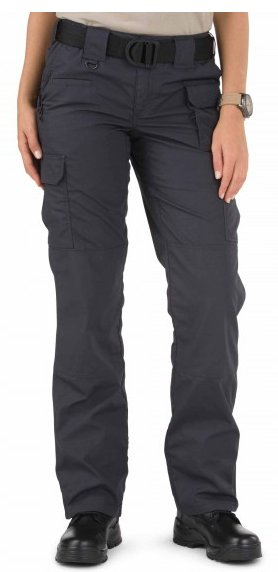 Ladies Charcoal 5.11 Taclite Pro Pant Poly Cotton Ripstop