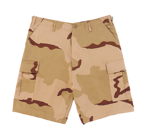 Desert Tri Color BDU Shorts