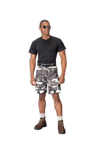 Urban Camo BDU Shorts