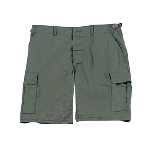 Olive Ripstop BDU Shorts