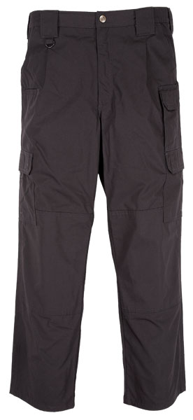 Black 5.11 Tactlite Pro Pant Poly Cotton Ripstop