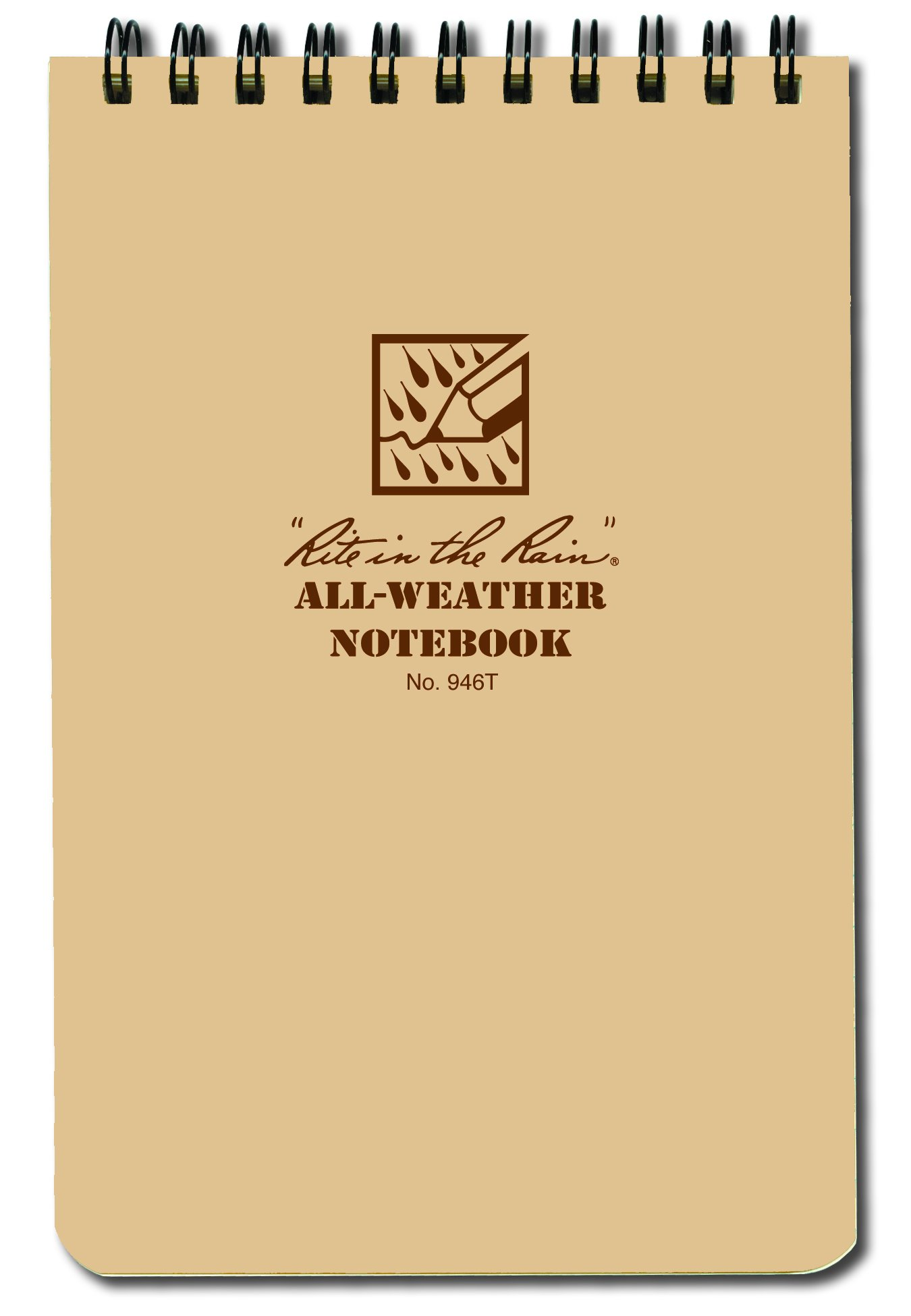 4 x 6 Notebook Tan