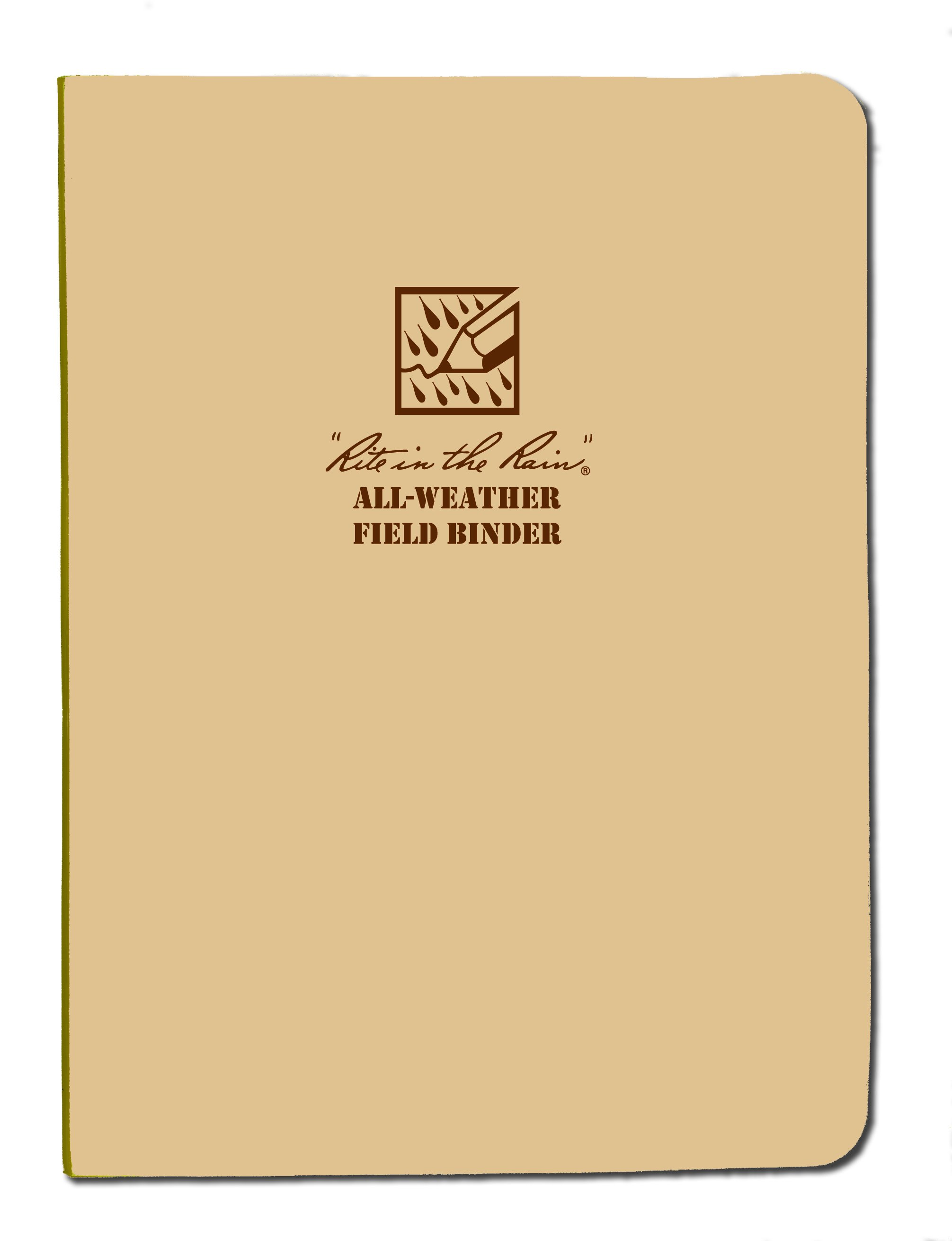 Field Binder 1/2 Tan