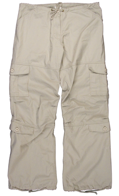 Ladies Stone Vintage Paratrooper Pants