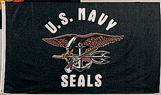 U.S. Navy Seals 3 x 5 Flag Printed Polyester US NAVY Flag