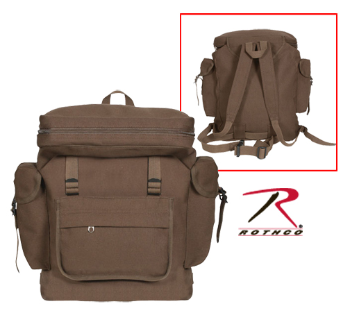 European Rucksack Earth Brown