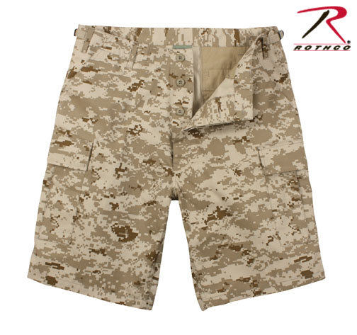 Desert Digital BDU Shorts