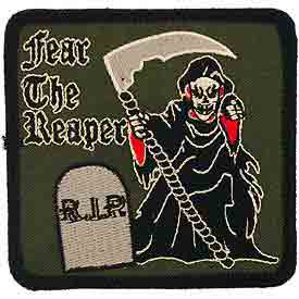 Subdued Fear The Reaper Patch