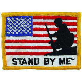 USA Flag Stand By Me Patch