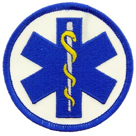 EMS Logo-Staff of Asclepius