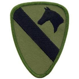 Army 1st. Cavalry Subdued