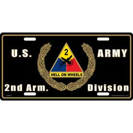 Army Plate 2nd. Armored Division