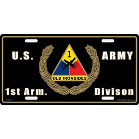 Plate 1st. Armored Division