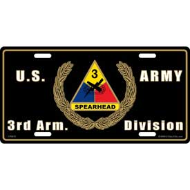 Plate 3rd. Armored Division