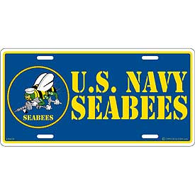 Plate USN Seabees