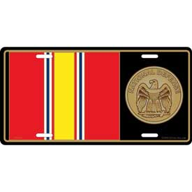 Plate National Defense Medal