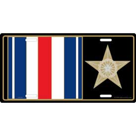 Plate Silver Star Medal