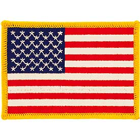 Patch- USA Large Rectangle