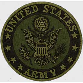 Patch-Army Logo Sudued