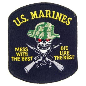 Patch-USMC Mess with the Best