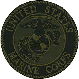 Patch-USMC Logo Subdued