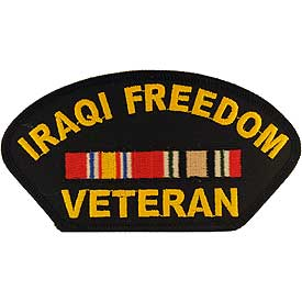 Iraqi Veteran Cap Patch