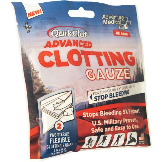 QuickClot Gauze 3 x24 (Two)
