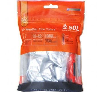 SOL All Weather Fire Cubes