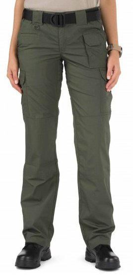 Ladies TDU Green Taclite Pant Poly Cotton Ripstop