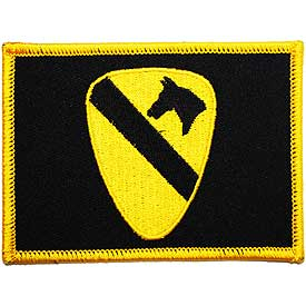 1st. Cav Flag Patch