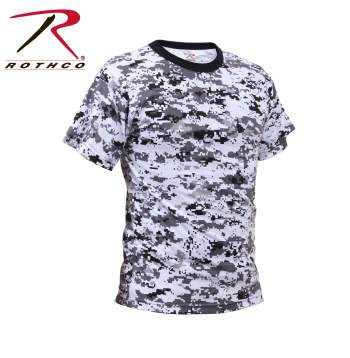 Digital City Camo T Shirt
