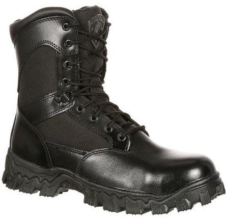 Rocky 8 Alpha Force Comp Toe Waterproof Size Zip Boot