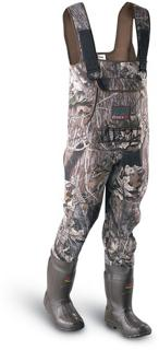 Neoprene Chest Waders in MossyOak Break Up Camo