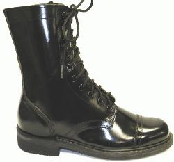 Cap Toe Combat Boots are all Leather and Heavy Duty