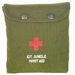 JUNGLE 1ST AID KIT Emergency Field First Aid Kit