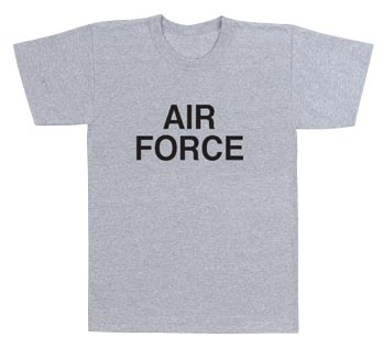 AIR FORCE PT-SHIRT 2X