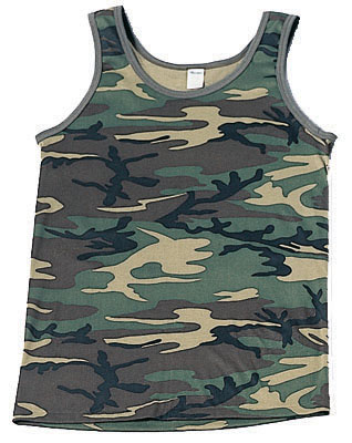 Kids Woodland Tank Top