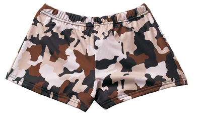 Desert Camo Hot Shorts Cute