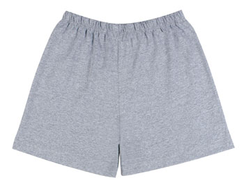 Army PT Shorts Plain Gray