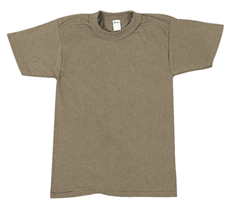 1st Quality Army Brown T-shirt